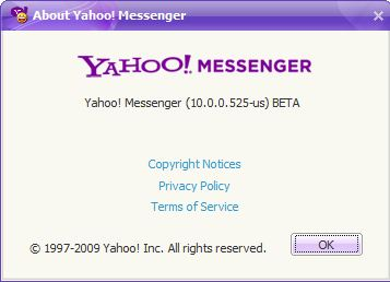 yahoo messenger beta 10